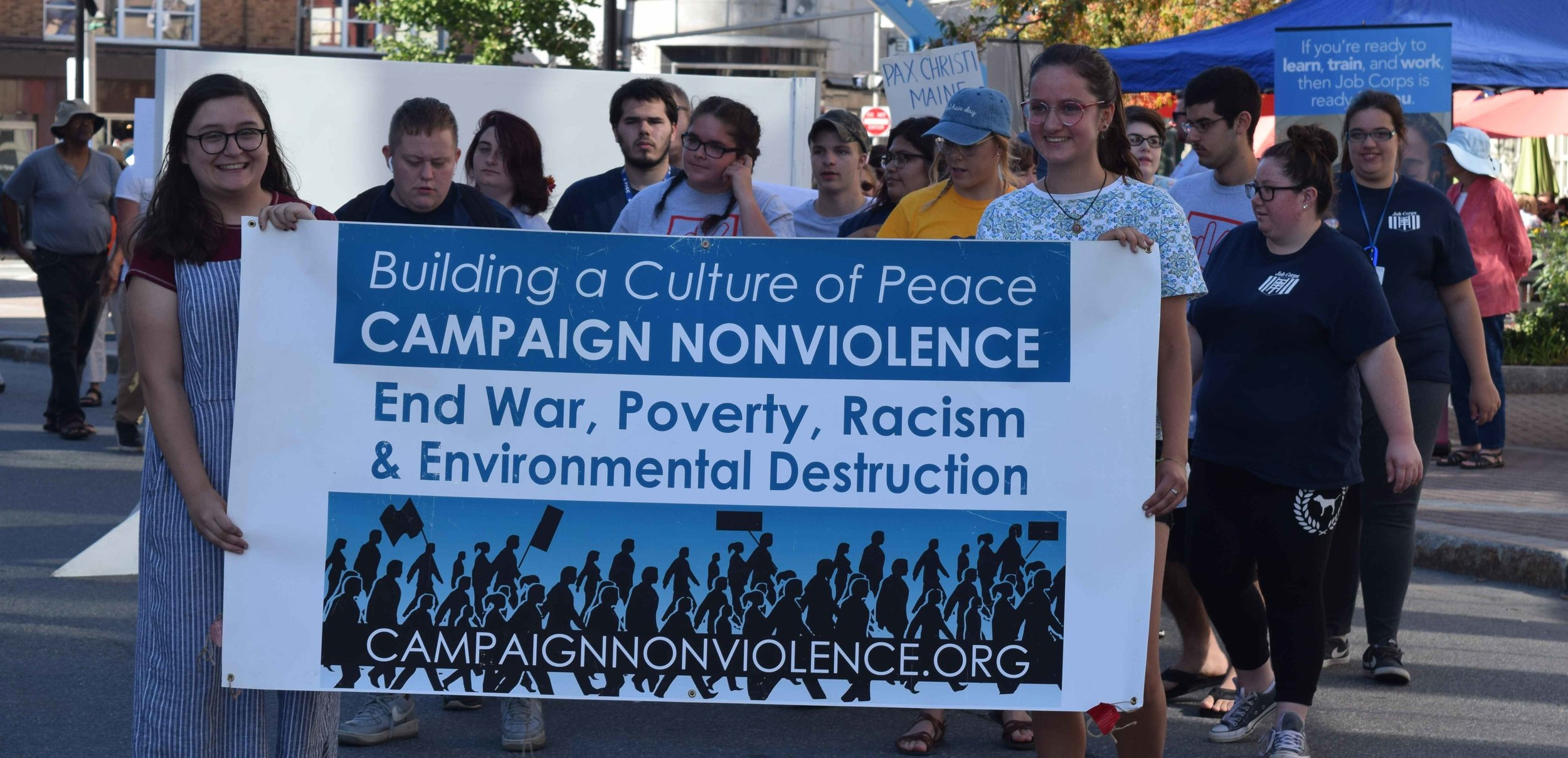 Campaign Nonviolence Action Week - Bangor, ME 2018