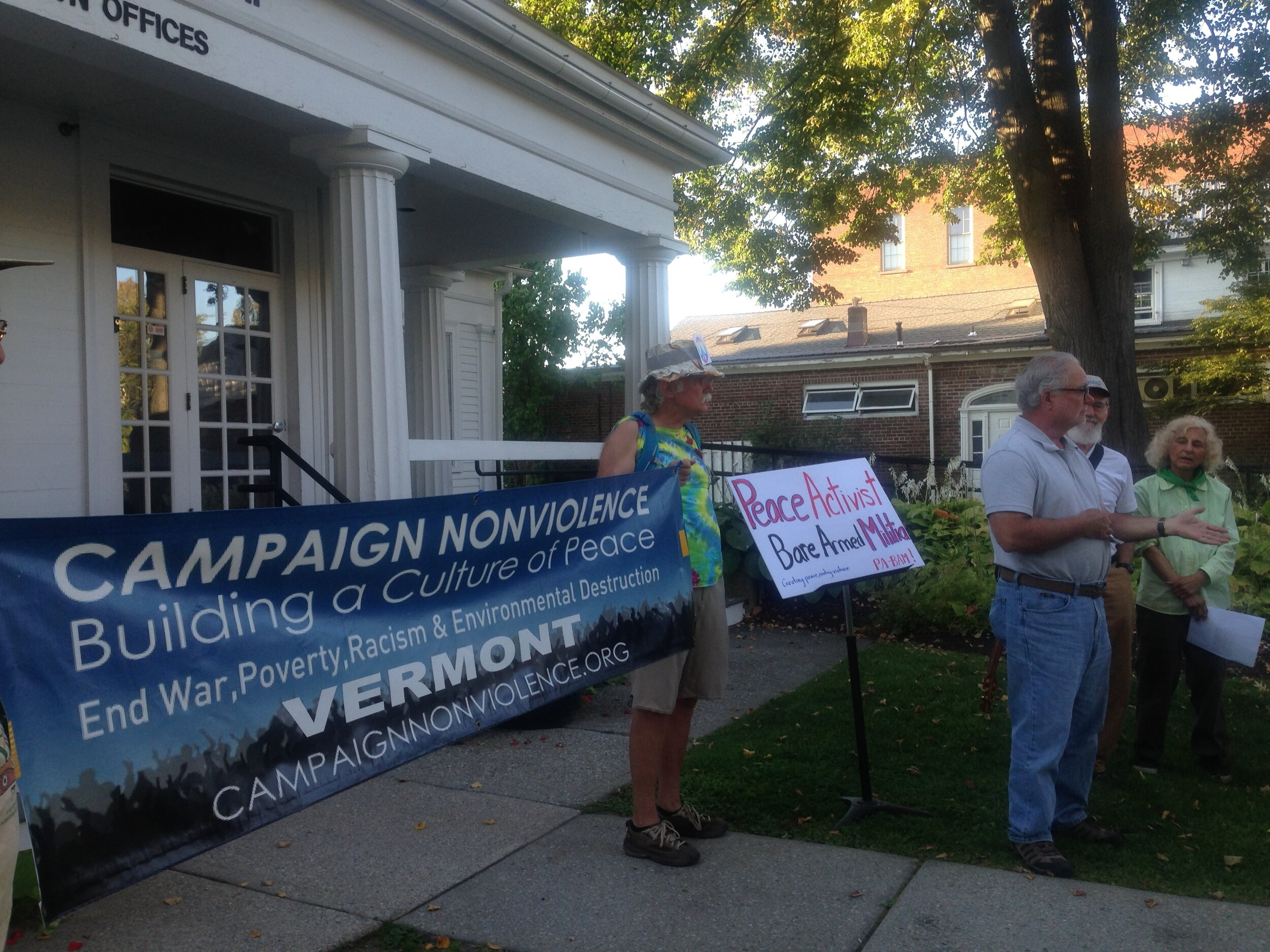 Bennington, VT CNV Action 2019
