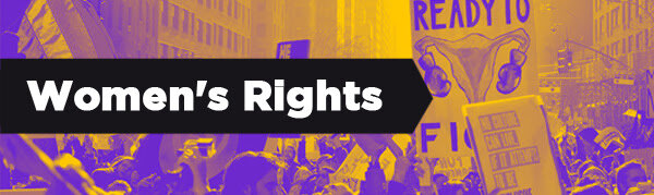 The struggle for women's rights takes many forms. Here are some recent stories.