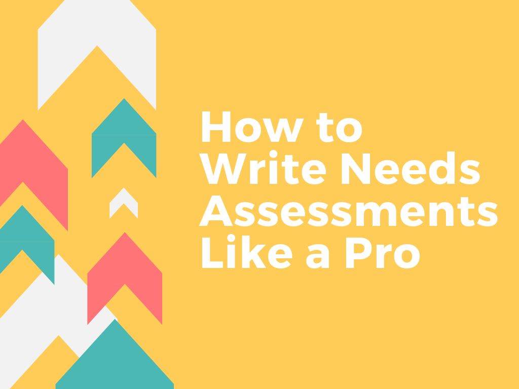 Write and Prosper | Needs Assessment Course