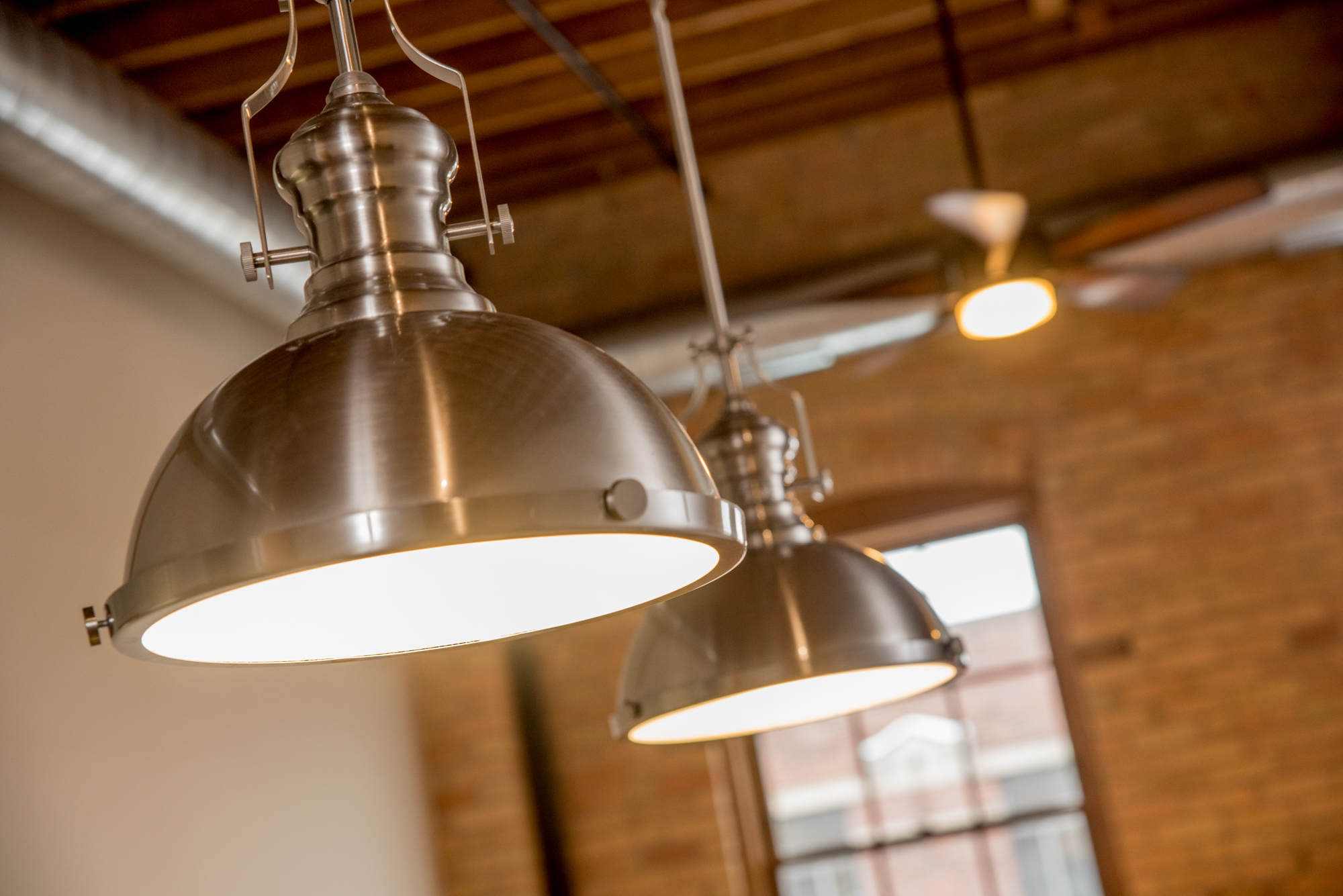 Period-specific light fixtures are both functional and visually appealing