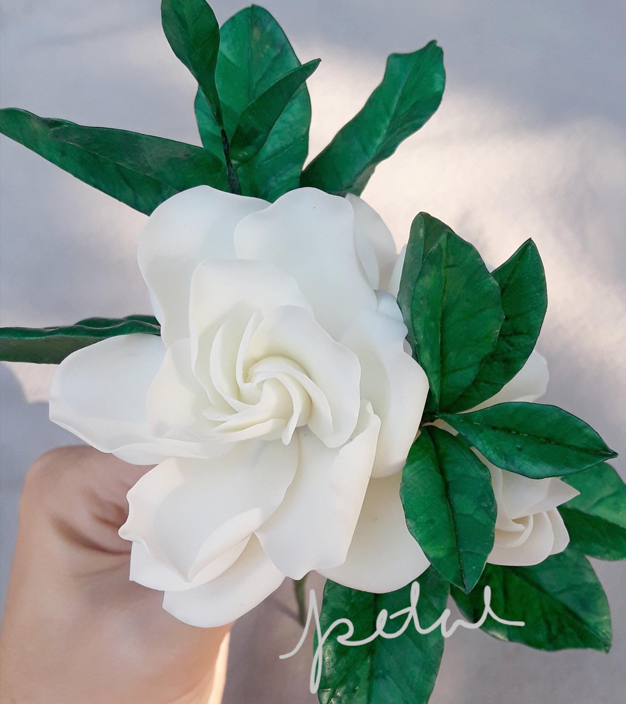 Cold Porcelain Gardenia