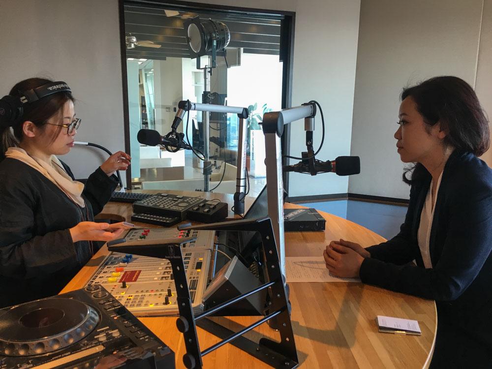 Akiko Sugawara on J-Wave Interview.jpg