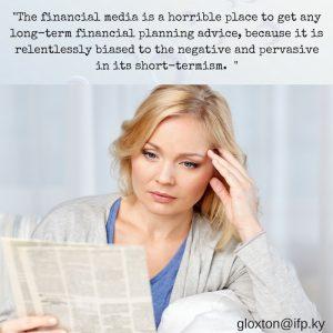 read financial headlines