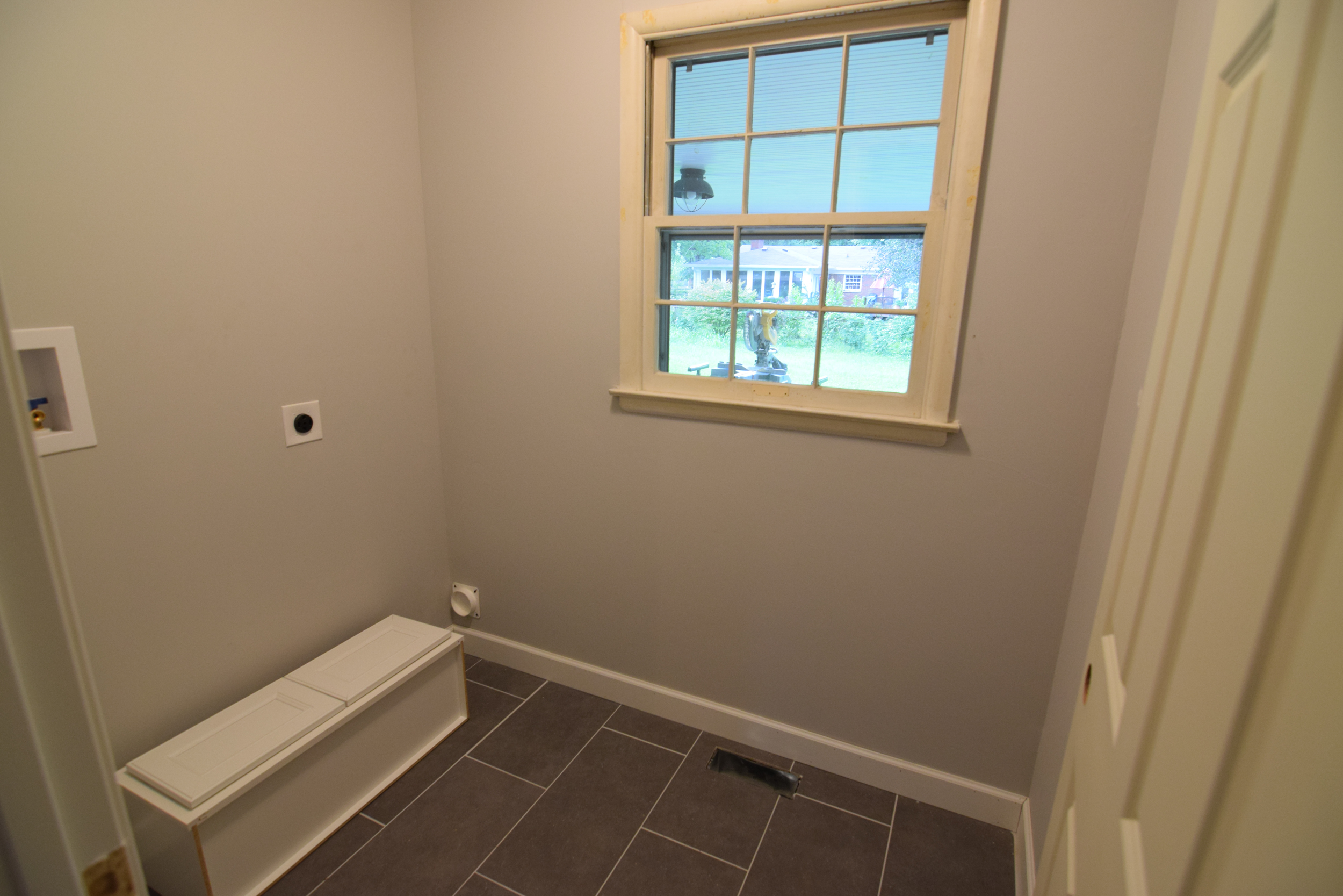 Laundry Room and Half Bathroom
