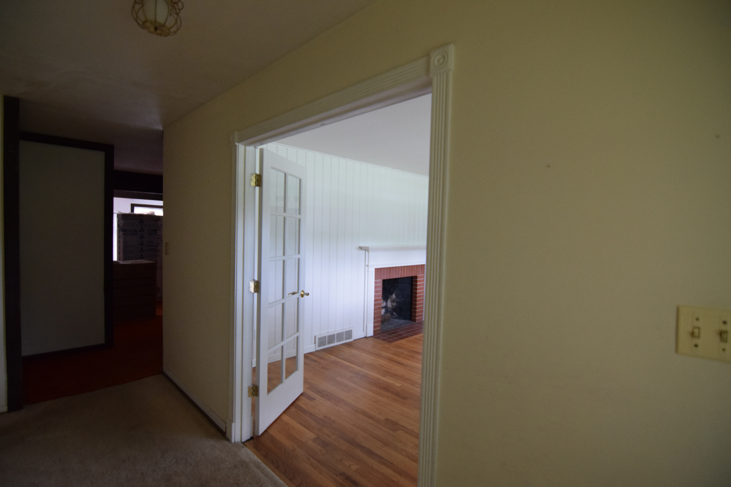 Monarch Homes | The House Next Door | Living Room - Before