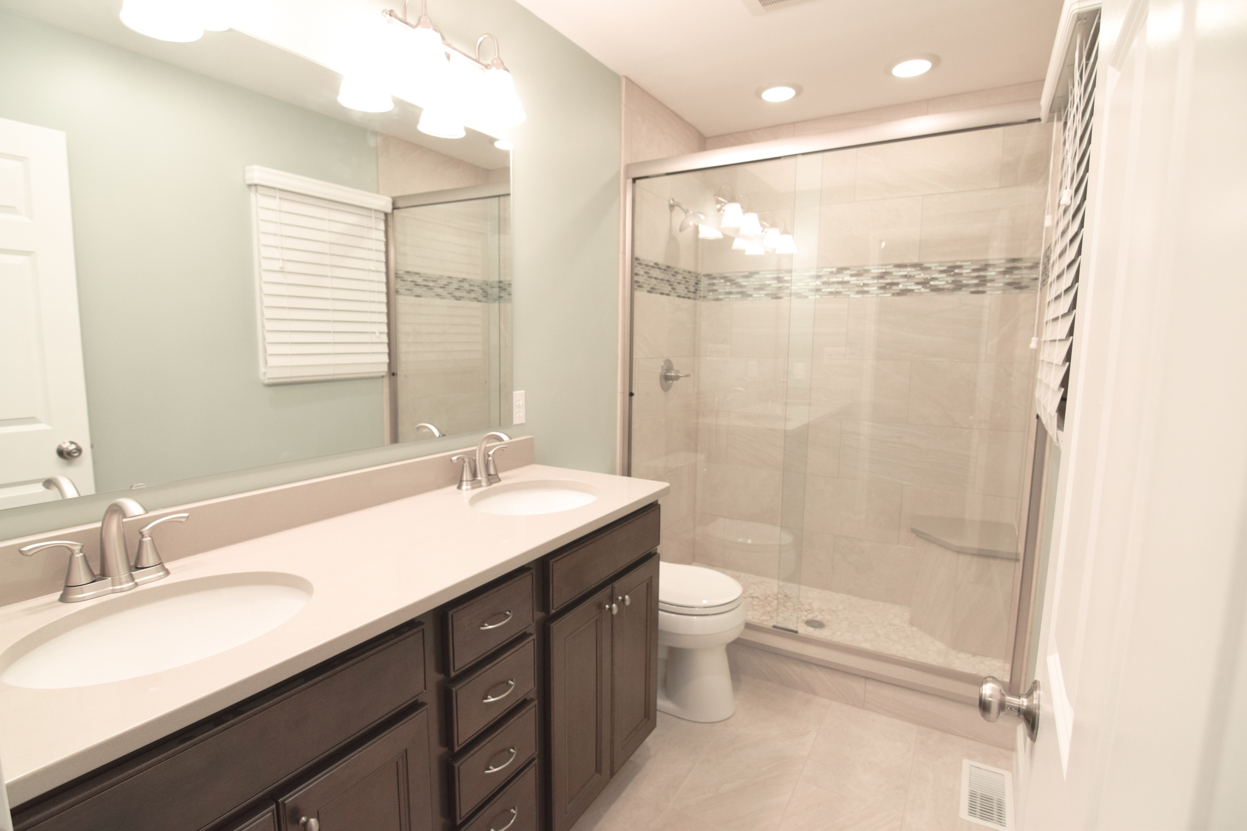 Monarch Homes | The House Next Door | Master Bathroom - After