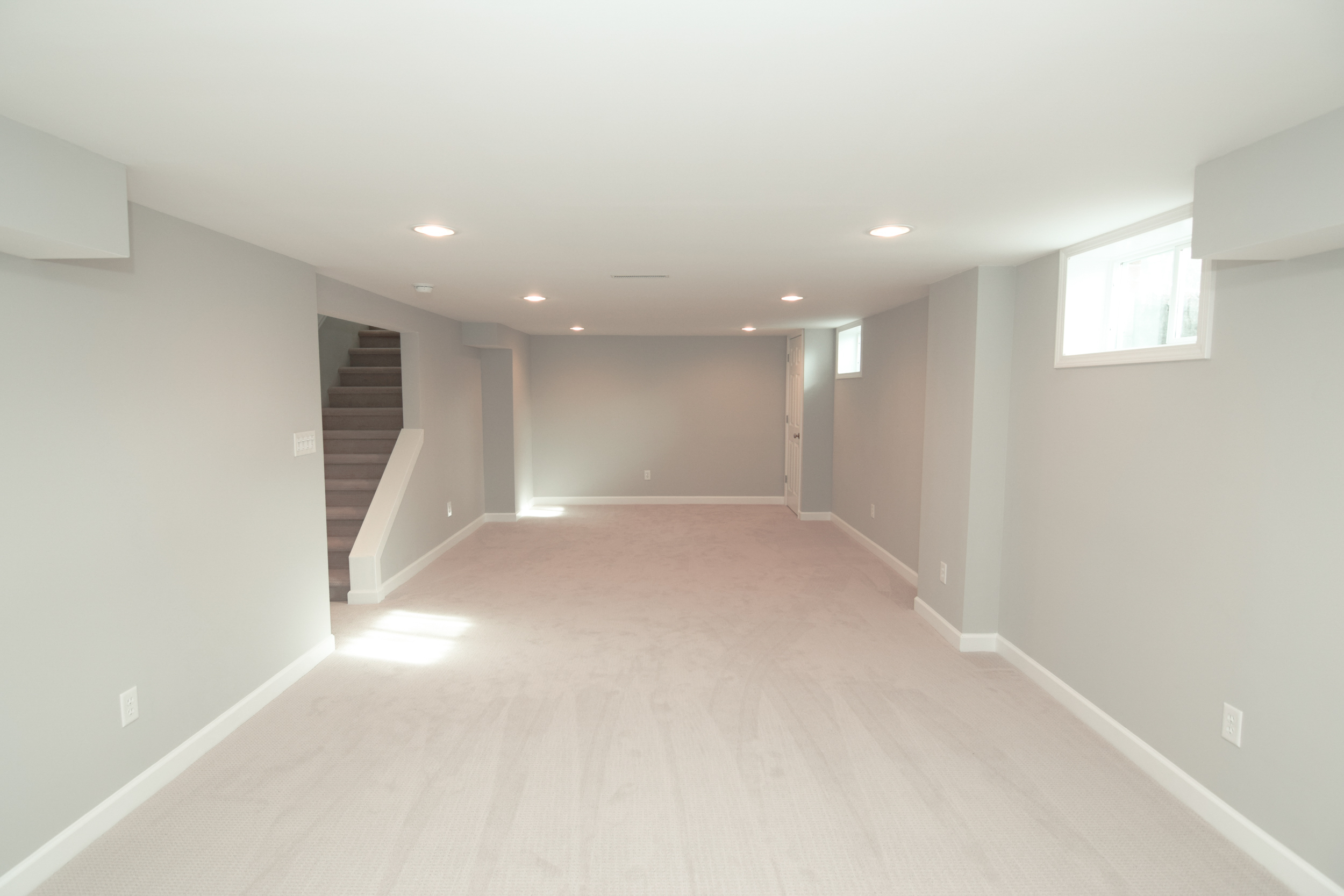 Monarch Homes | The House Next Door | Basement - After