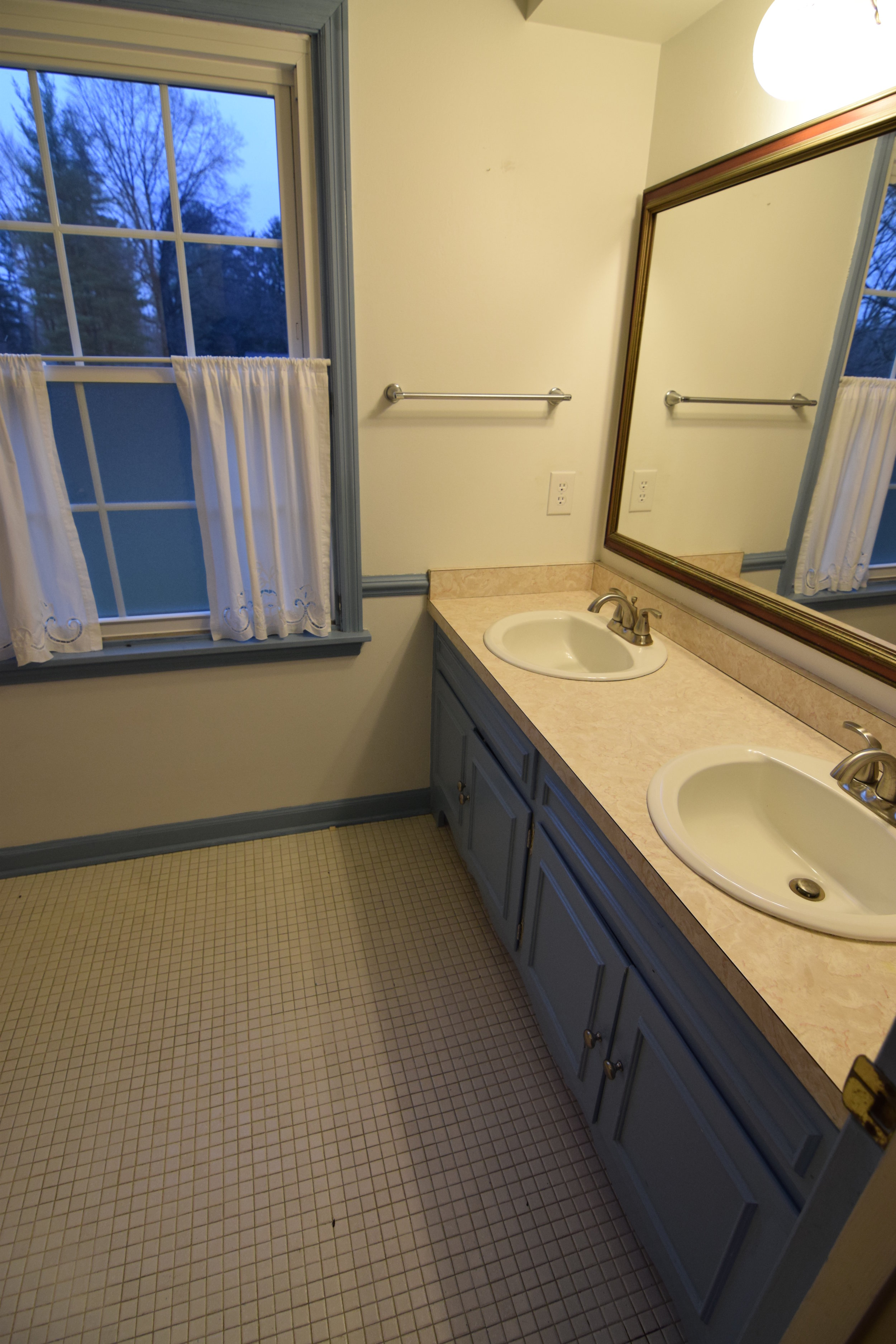 The Engagement House Guest Bathroom Before