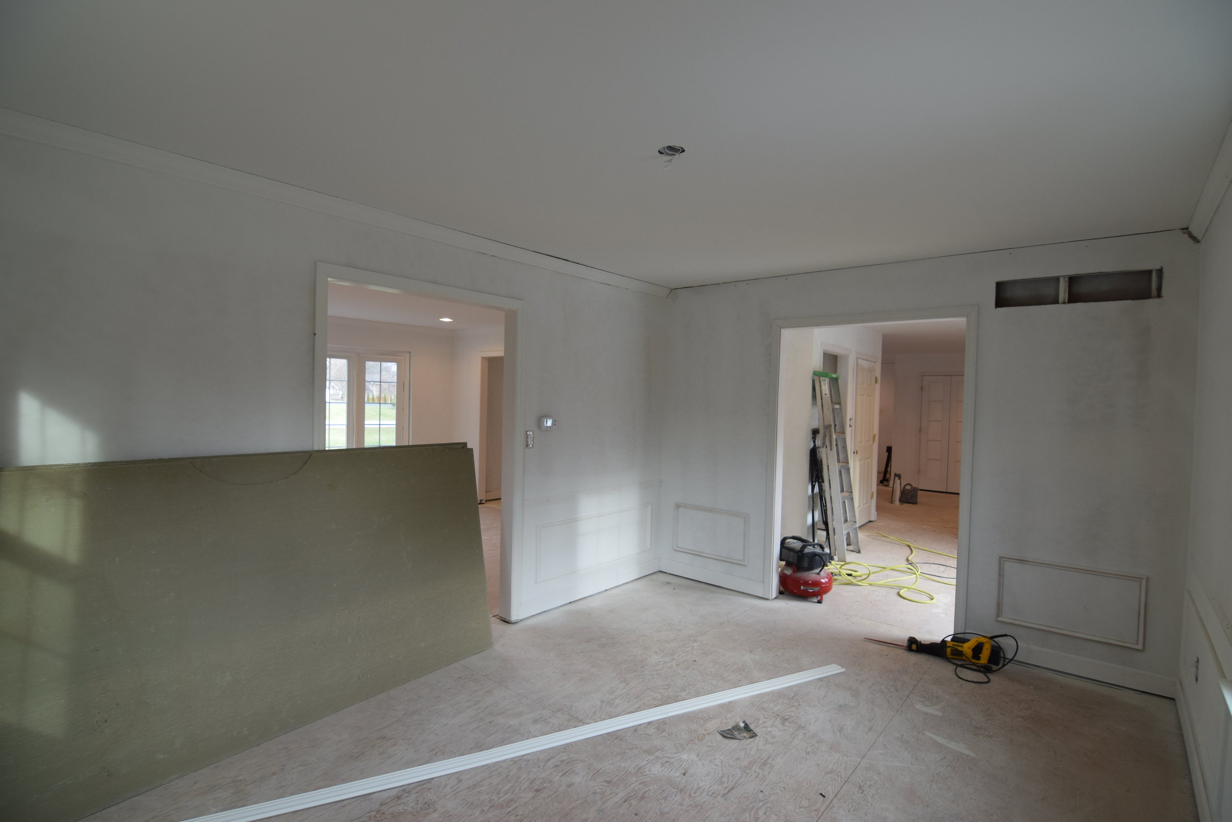 The Engagement House Dining Room Progress