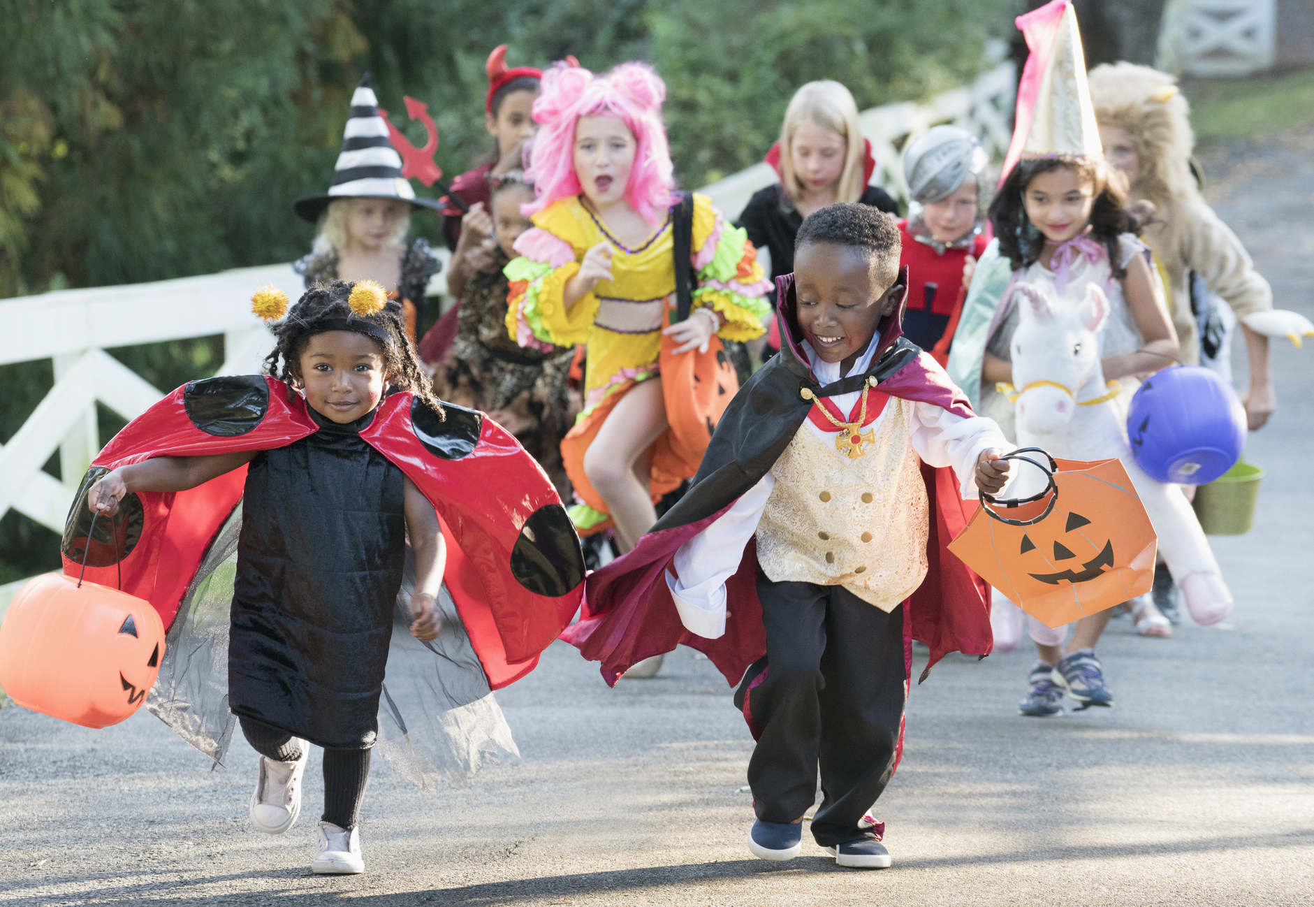 Little goblins and spooks will enjoy tricks and treats at Houston's annual Boo Bash to be held Halloween evening at the square in Houston, Miss.!