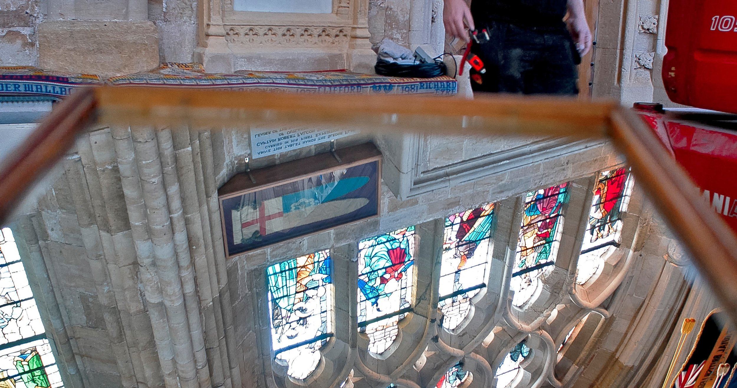 As part of their research process for the commission, Bik Van der Pol visited Exeter Cathedral