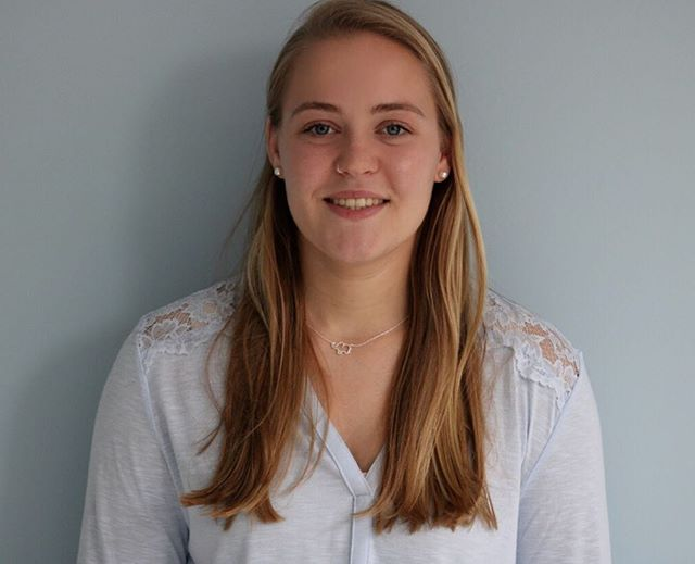 Our Staff Spotlight shines on Sarah Williams this week! She lives right here in the Bronx and attends Saint Michael's College in Vermont. She is a member of the Saint Mike's women's soccer team and an Economics major.  She enjoys everything business related and spends a lot of her time managing our budget and finances. Of course, she is the Business Intern and enjoys working with the McCarton Center because she gets to do business for a good cause. Sarah also oversees all of our orders and arriving supplies and equipment. . . . #sarah@mccarton #bronx #nyc #mccarton #womeninbusiness #business #autsim #donate