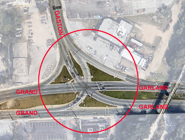 View of the Current 3G Intersection