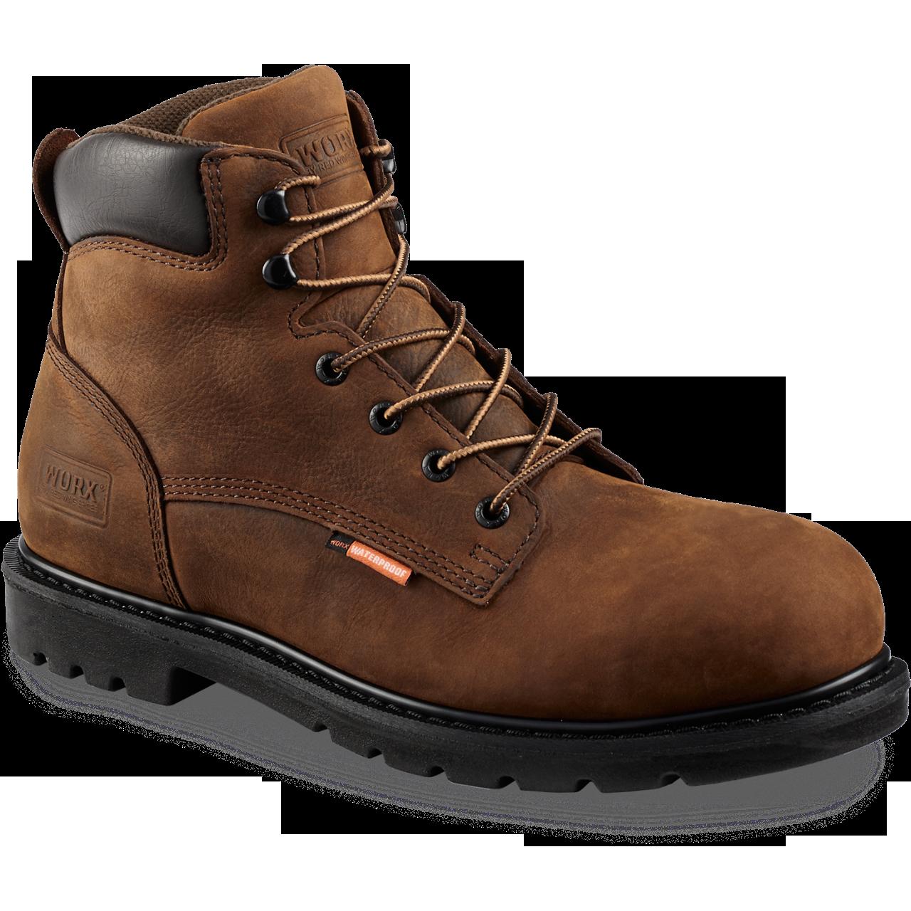 Worx 5606  Steel Toe - Waterproof - Electrical Hazard  Click here for specifications