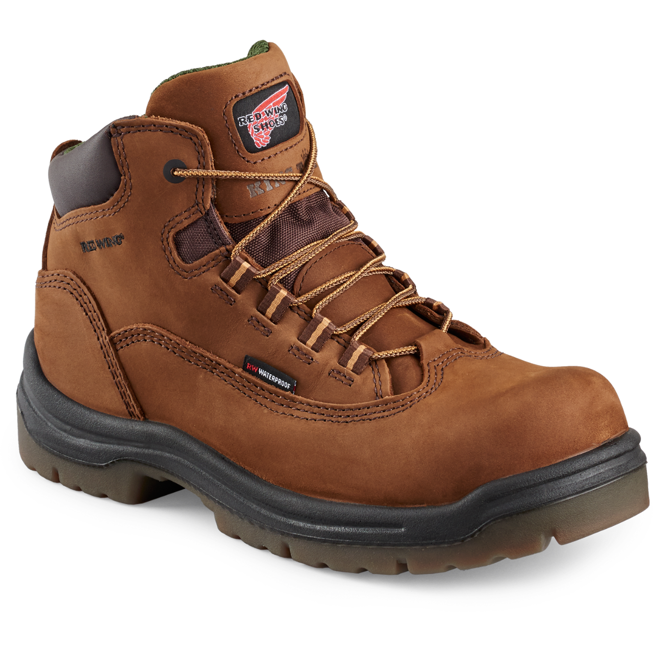 Red Wing 2340 - Women's 5-Inch Boot Brown  Composite Toe - Waterproof - Electrical Hazard King Toe - Core Style  Click here for specifications