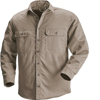 66340 - Red Wing Shirt   Multiple colors and sizes available  Work shirt with extra-long body, button pockets and button-down front. Lightweight and comfortable.
