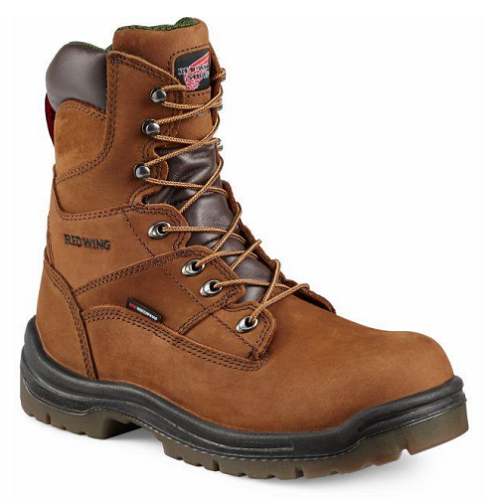 Red Wing 2280 - 8 Inch Brown Boot  Composite Toe - Waterproof - Electrical Hazard  Click here for specifications
