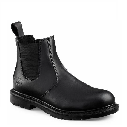 Worx 5424 - 6 Inch Romeo Black  Steel Toe - Electrical Hazard  Click Here for specifications