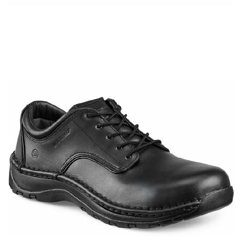 Red Wing 6703 - Men's Oxford Black Laces  Aluminum Toe - Static Dissipative  Click here for specifications