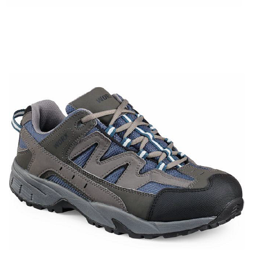 Worx 5007 - Men's Athletic Grey/Blue  Aluminum Toe - Electrical Hazard  Click here for specifications