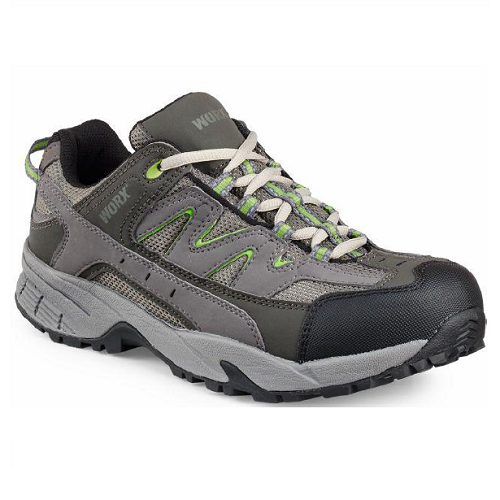 Worx 5111 - Women's Athletic Grey/Green  Aluminum Toe - Electrical Hazard  Click here for specifications