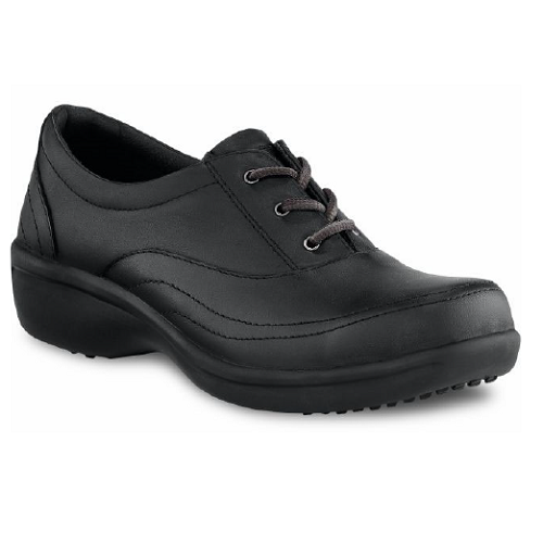 Worx 5123 - Women's Oxford Black Laces  Electrical Hazard, Steel Toe, Women's Specific Fit,  HRO Heat Resistant, StarGrip®  Click here for specifications