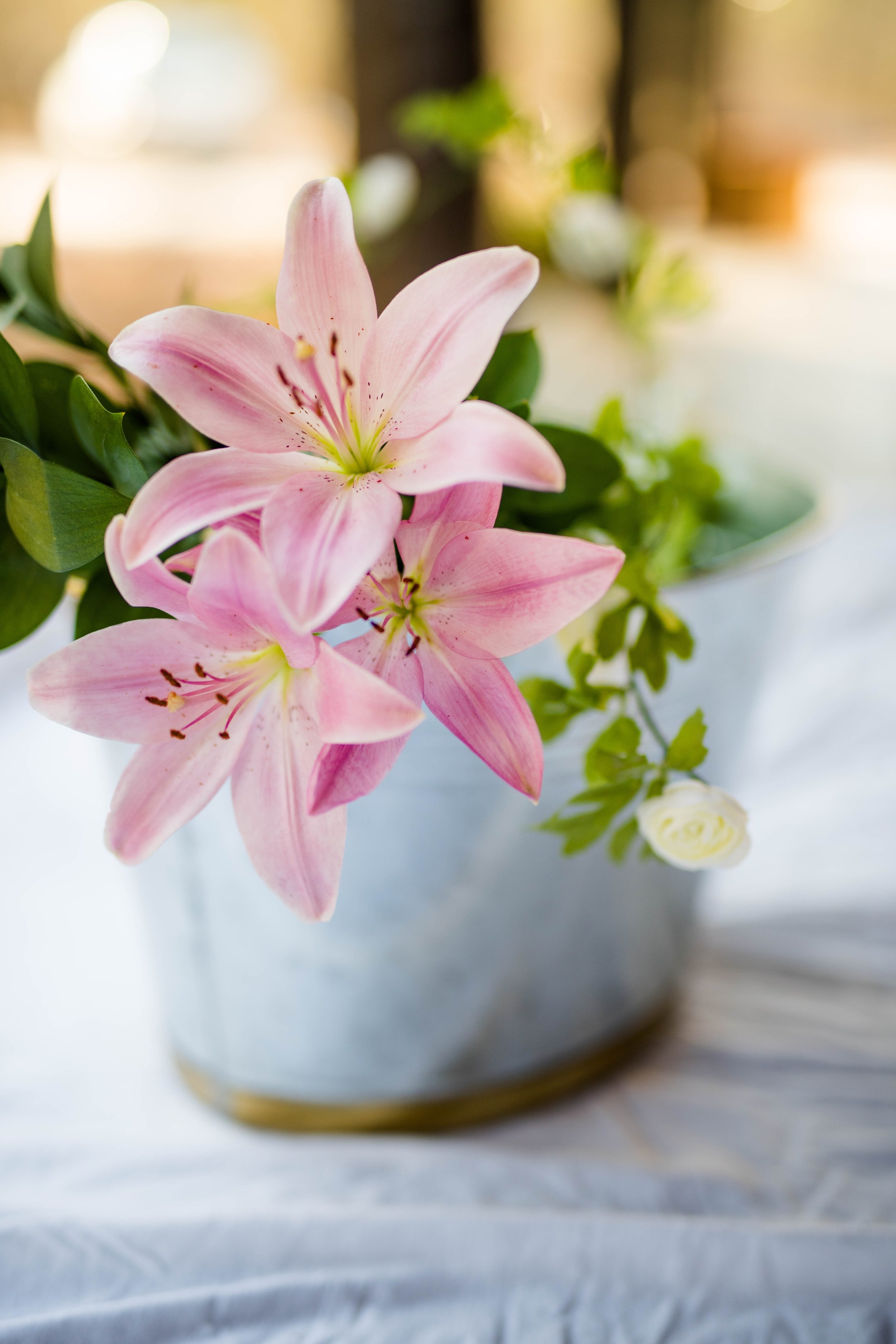 Lilies - Lilies are another very popular Valentine's choice.