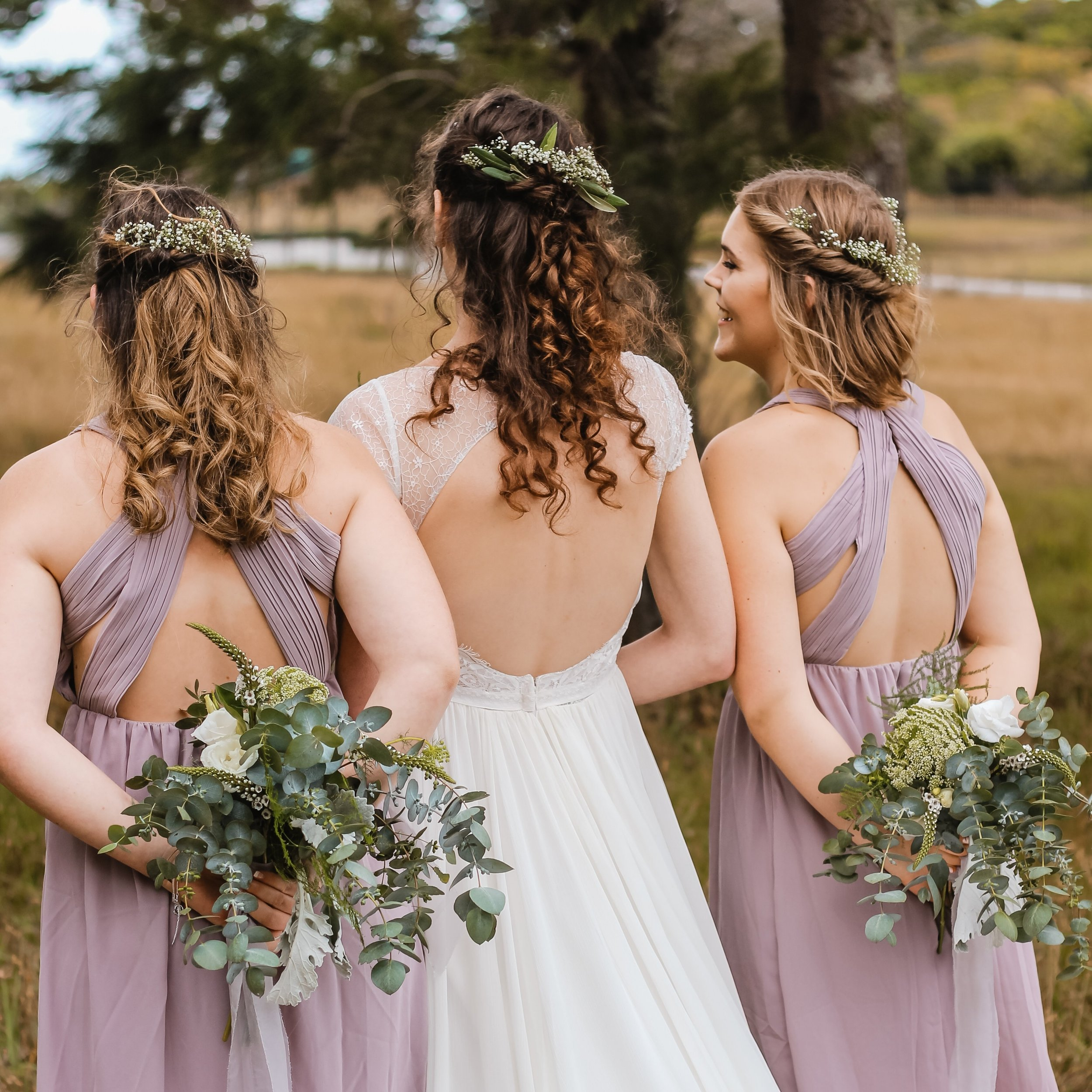Bridesmaids Preserved Bouquet Jewellery