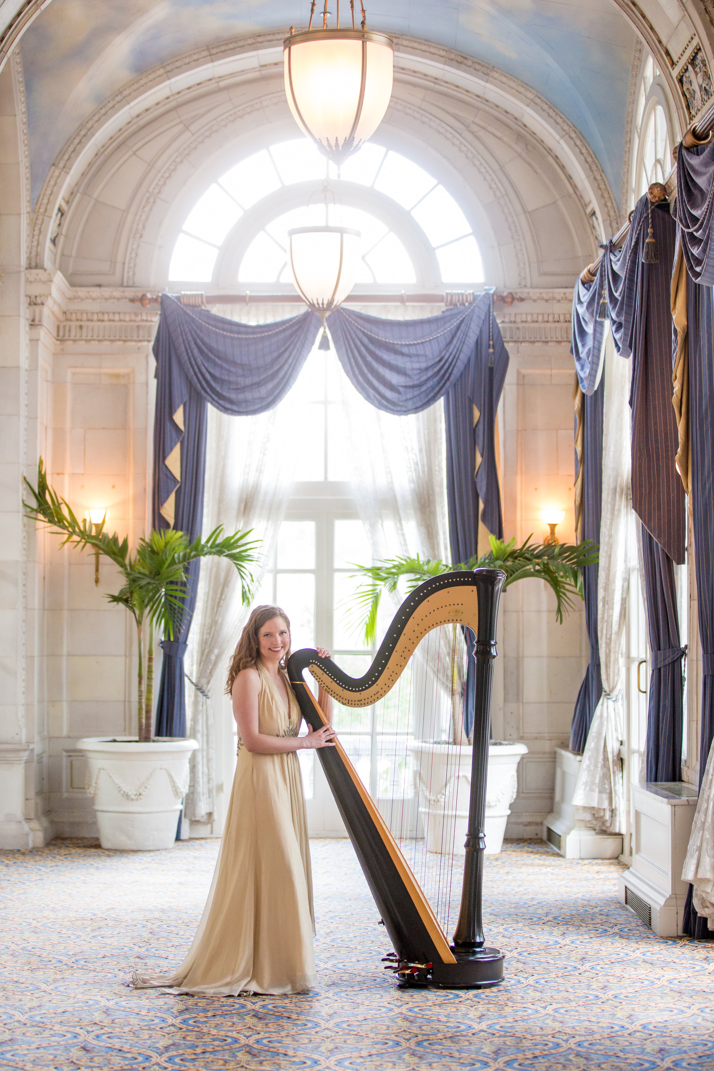 """Imagine…. - The huge smile on your mother's or wife's face as it is lit up by birthday candles and the sound of """"Happy Birthday"""" on the harp."""