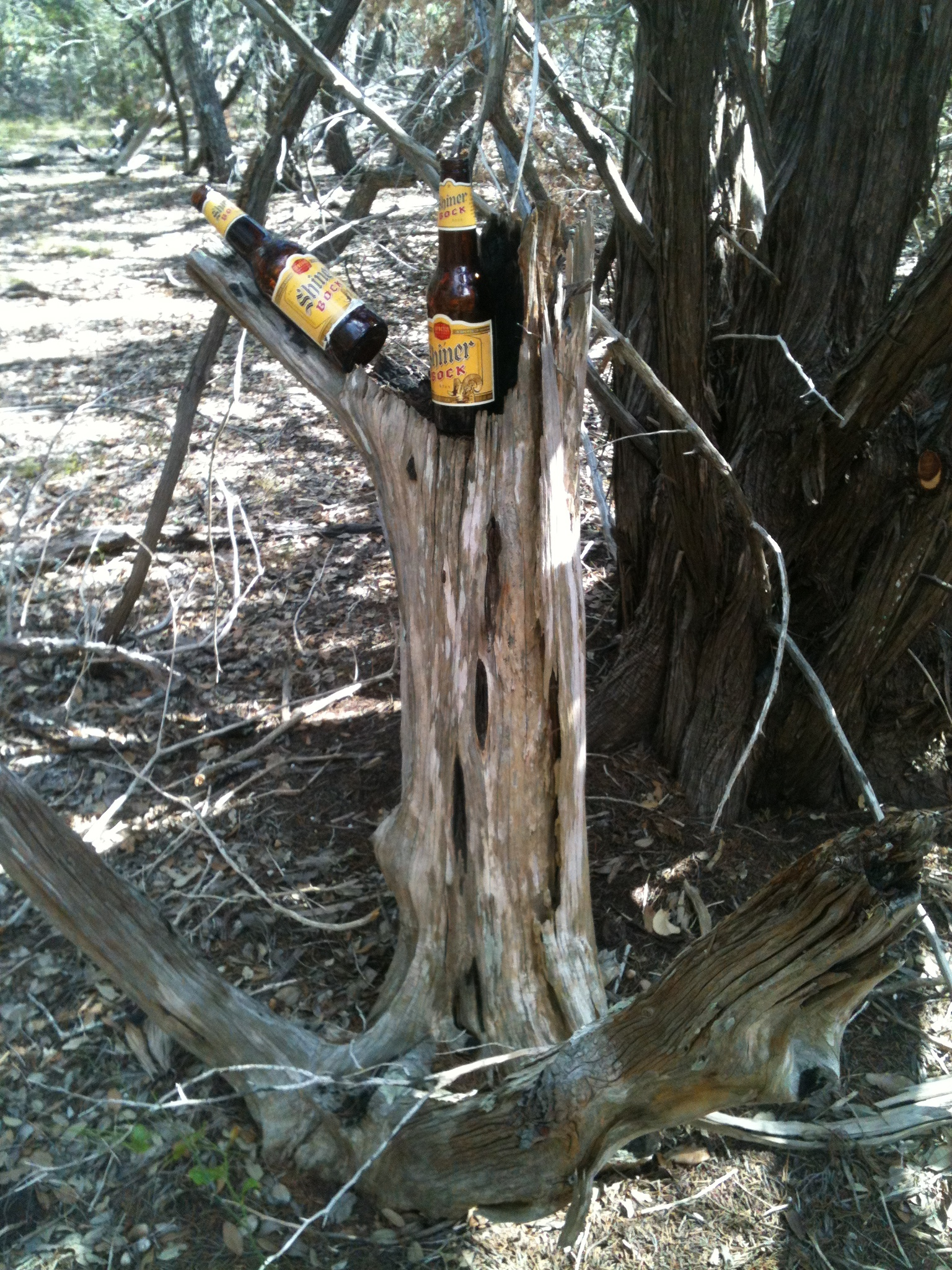 Finding my way-beer markers - The beer markers are still there today