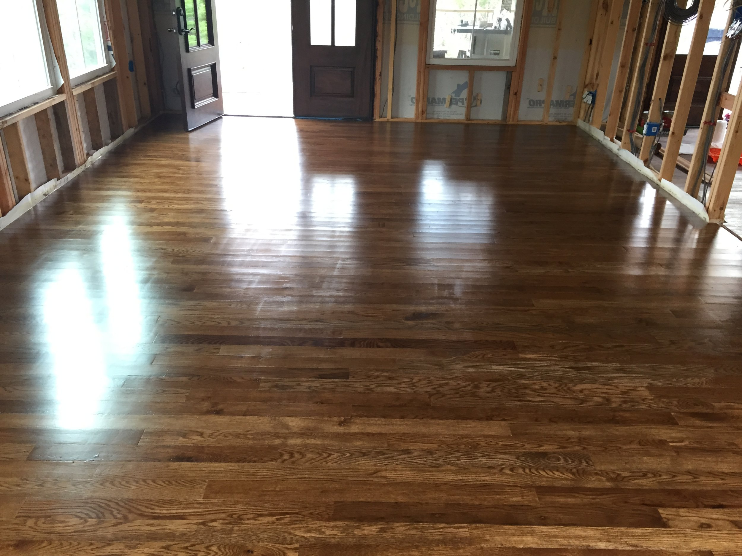 Learning to install solid hardwood is a little different from installing engineered hardwood