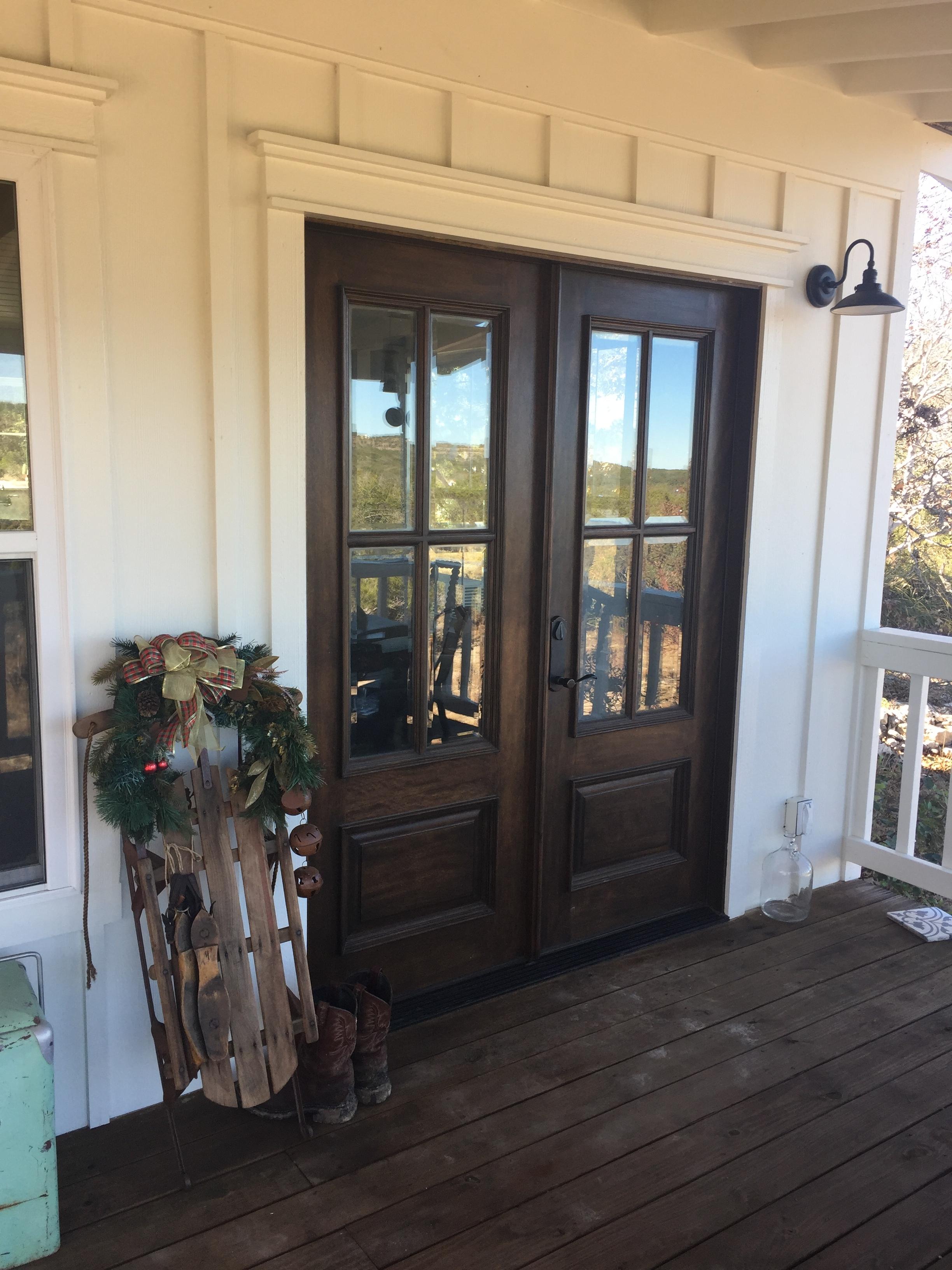 Double Doors onto the Deck
