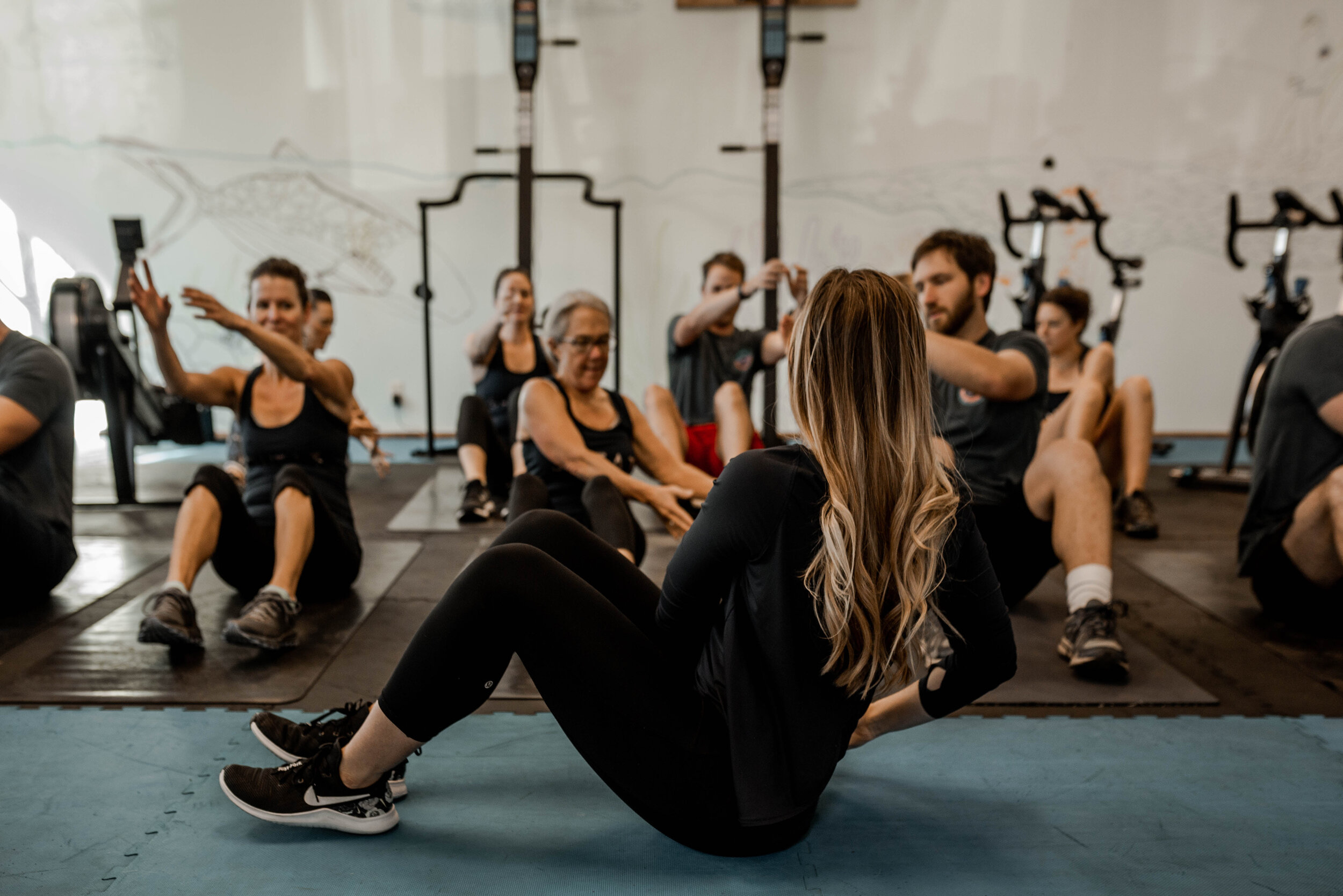Find Your Tribe. - Join a fitness community that is passionate, determined, and supportive. Whether you want to train in a group or get one-on-one specialization, we have you covered. Plus, every month, a portion of our proceeds go to a family in the community in need..Learn more ➝