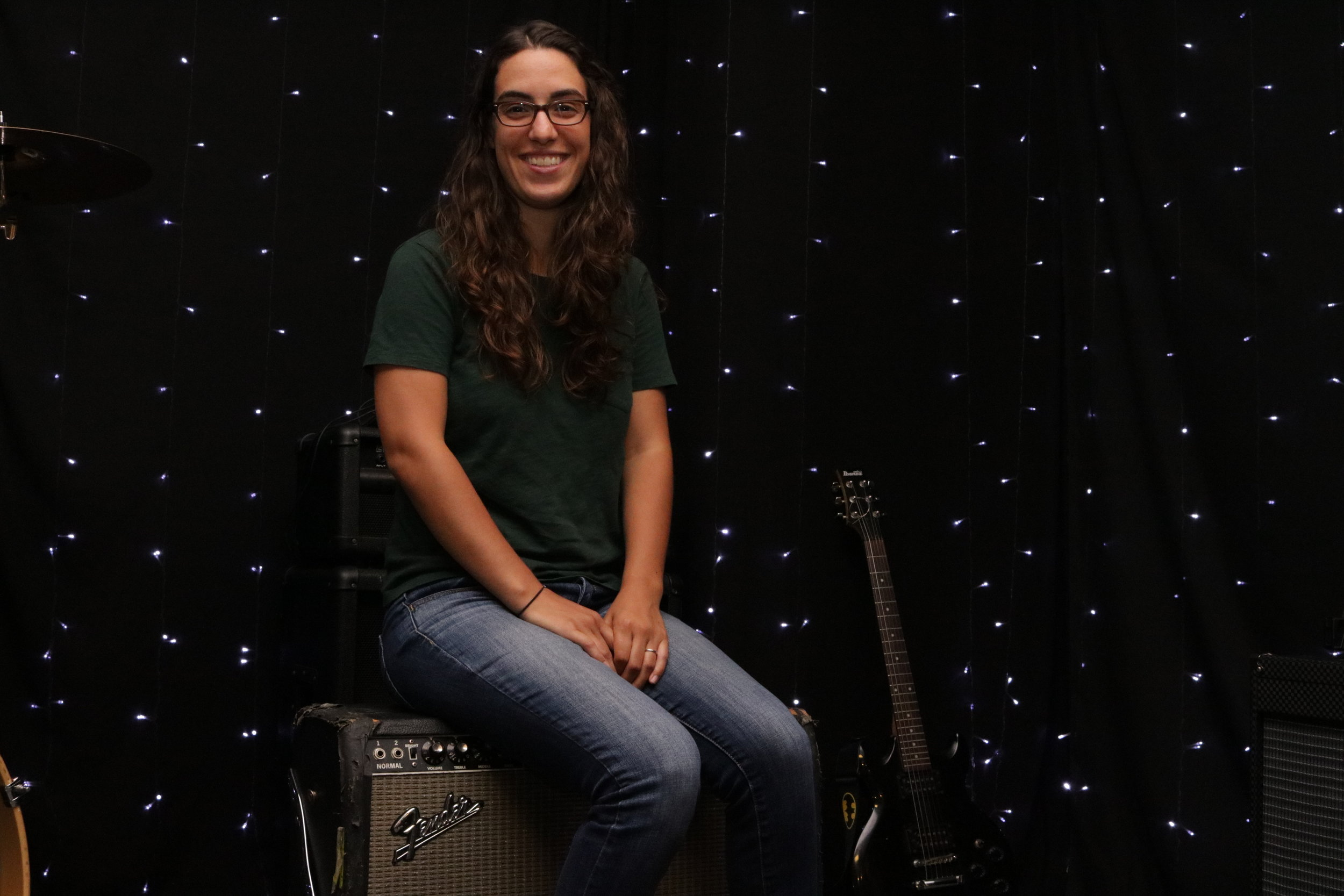 Caitlin Moss - co-founder and owner/Station Manager