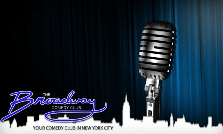 BROADWAY COMEDY CLUB - Ariela will be singing in the Broadway Comedy Club show
