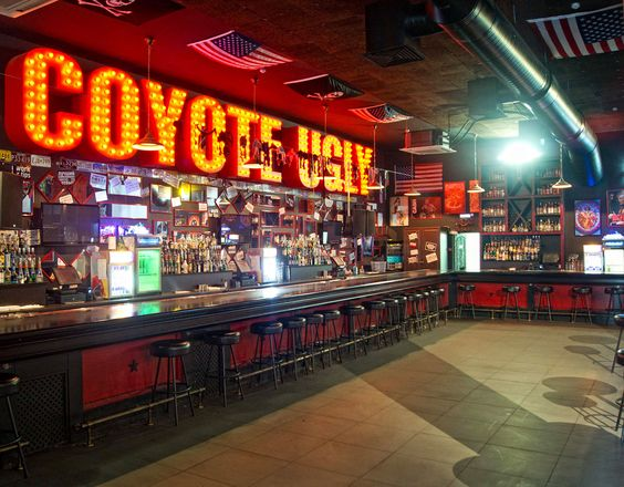 The Coyote Ugly Bar