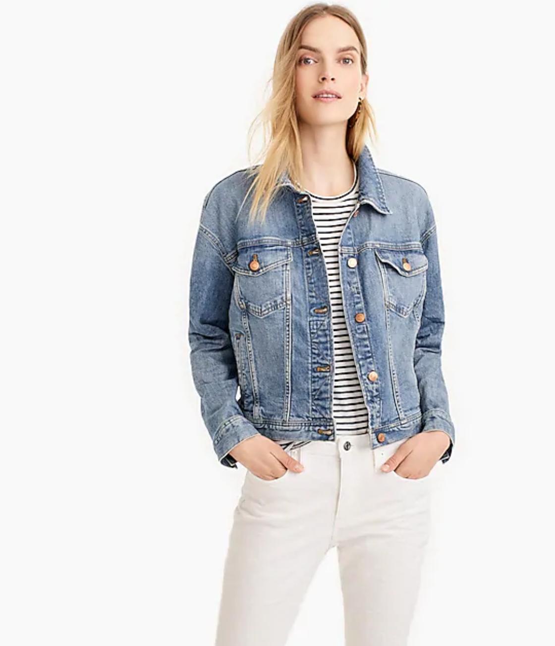 Eco Denim Jacket