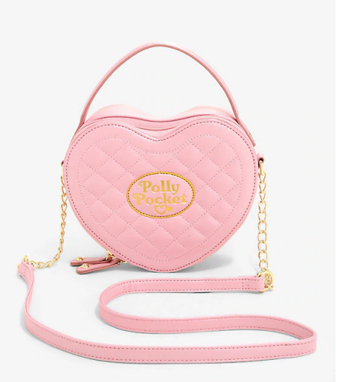 Polly Pocket Quilted Heart Crosssbody