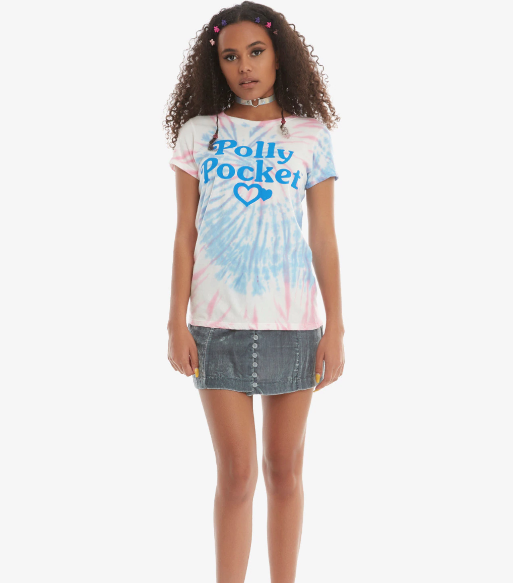 Polly Pocket Logo Tie Dye Shirt