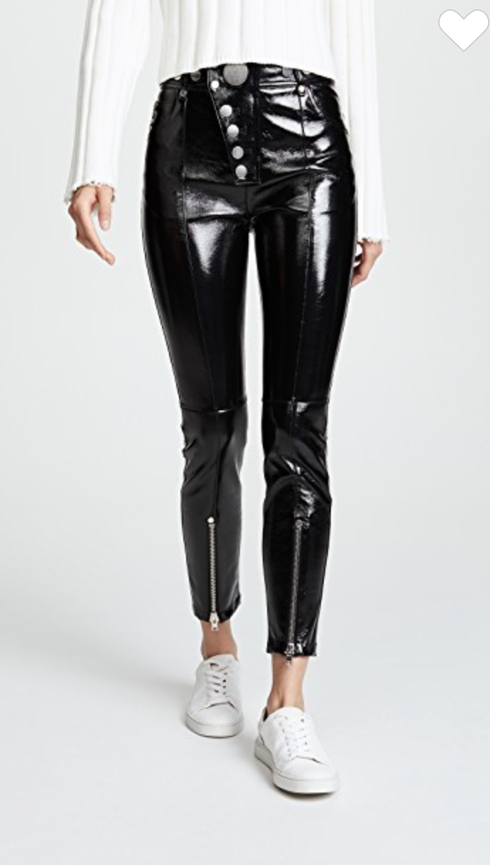 Alexander Wang Patent Leather Leggings