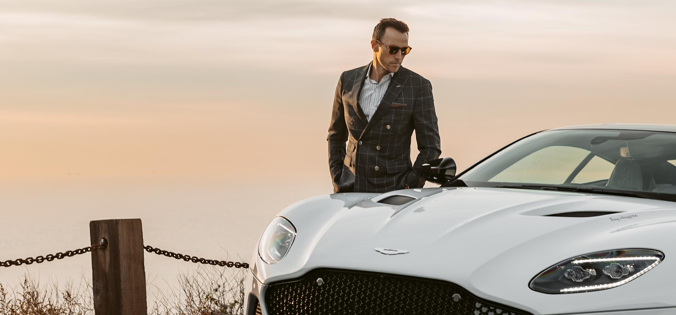 Aston Martin Superleggera for Nobleman Magazine