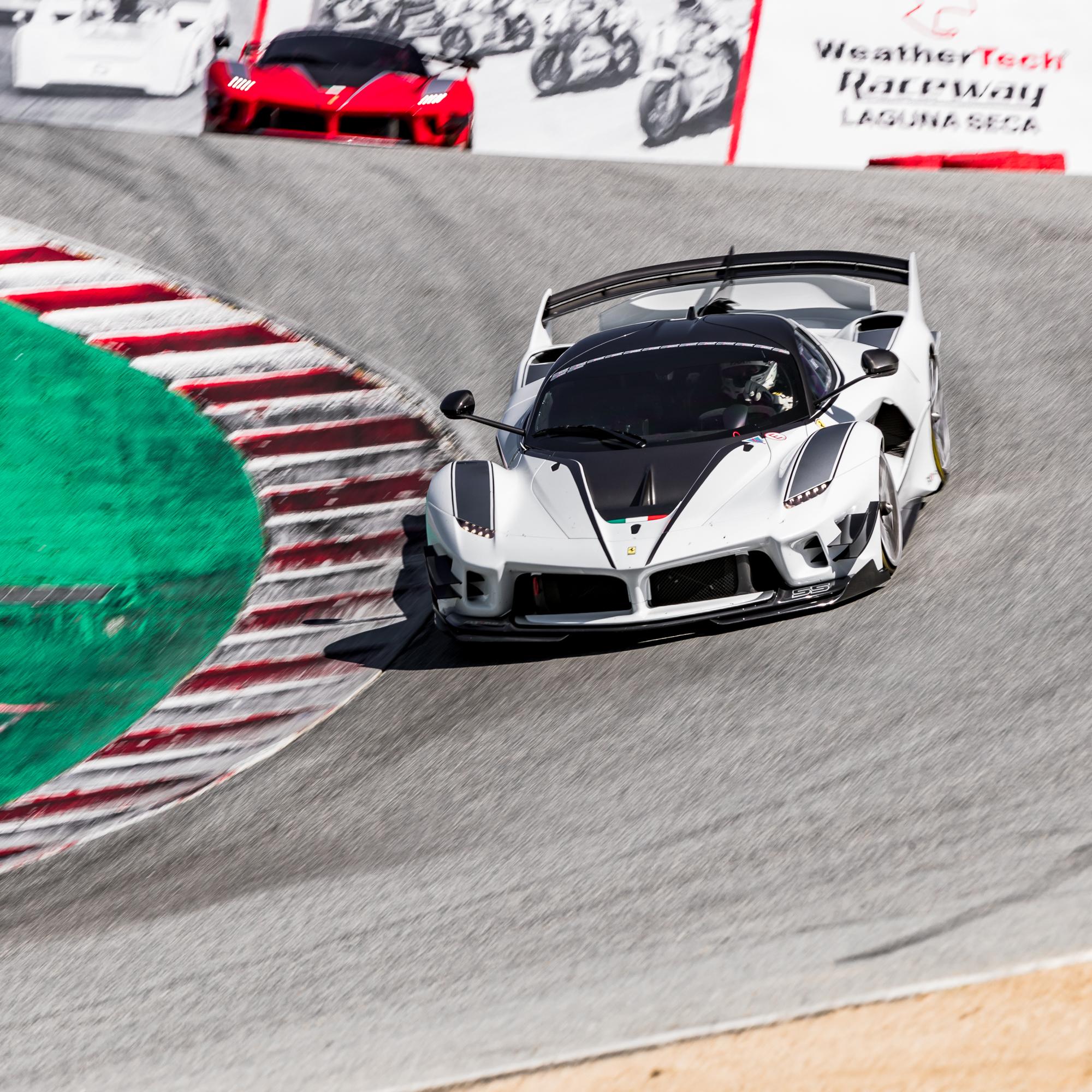 Ferrari Challenge at Laguna Seca