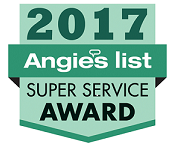 Britco is a 2017 Super Service Award Winner with Angie's List