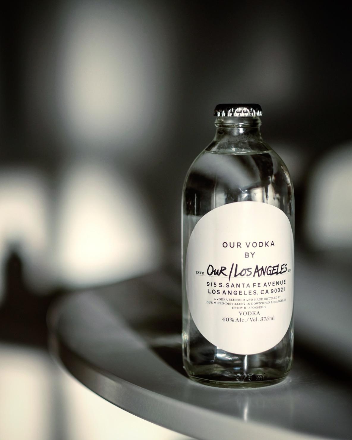 Our/Los Angeles Vodka by Timothy Kuratek