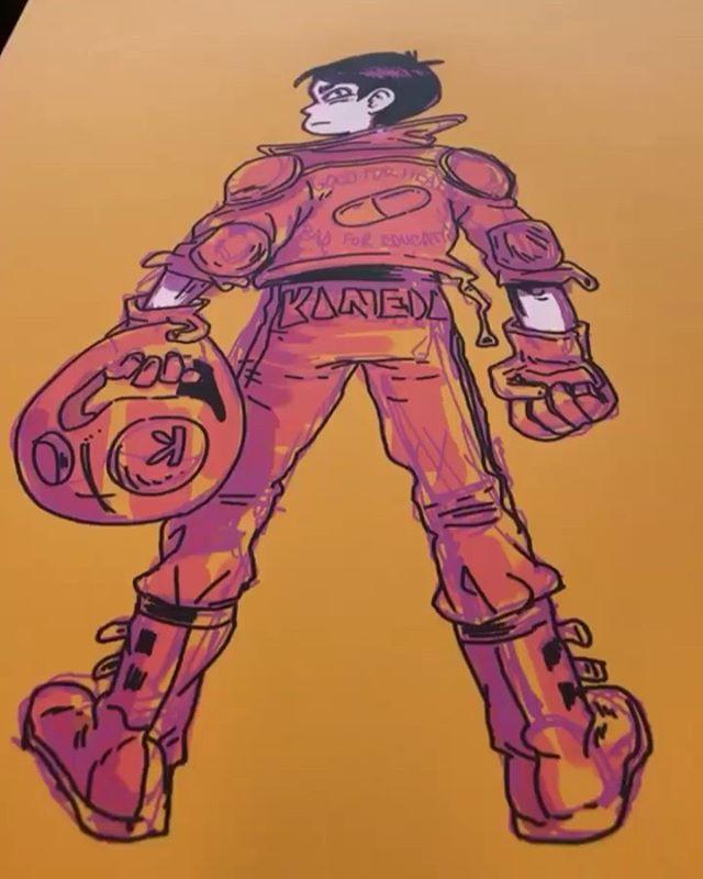 AKIRA - PRINTS 11x17 Poster The year is 2019 in Neo-Tokyo  Fresh Prints @officialmegacon May16-19 Table 371a . #akira#neotokyo#megaconorlando#draweveryday#illustration#digitalillustration#artistsoninstagram#kaneda#tetsuo#katsuhirootomo#photoshoppainting#artcomic#comicartist#manga#✍#neotokyo#motorcycleart#anime#animation#アキラ#tokyofashion#shamelessakiraspam#megacon2019