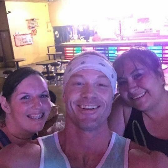 Danced a ton with these two ;) @mercakes_82  @zumba life!  #zumbies #zumba #dance #threestooges #fitness #ourjourney #ourtribe #ourvibe