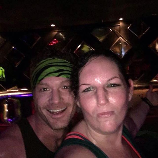 Wanted to introduce you to @mercakes_82 ;) she is one of our reasons to love.  #zumba #willandgrace #besties #dedicated #herjourney #deserving #fitness #sweetheart