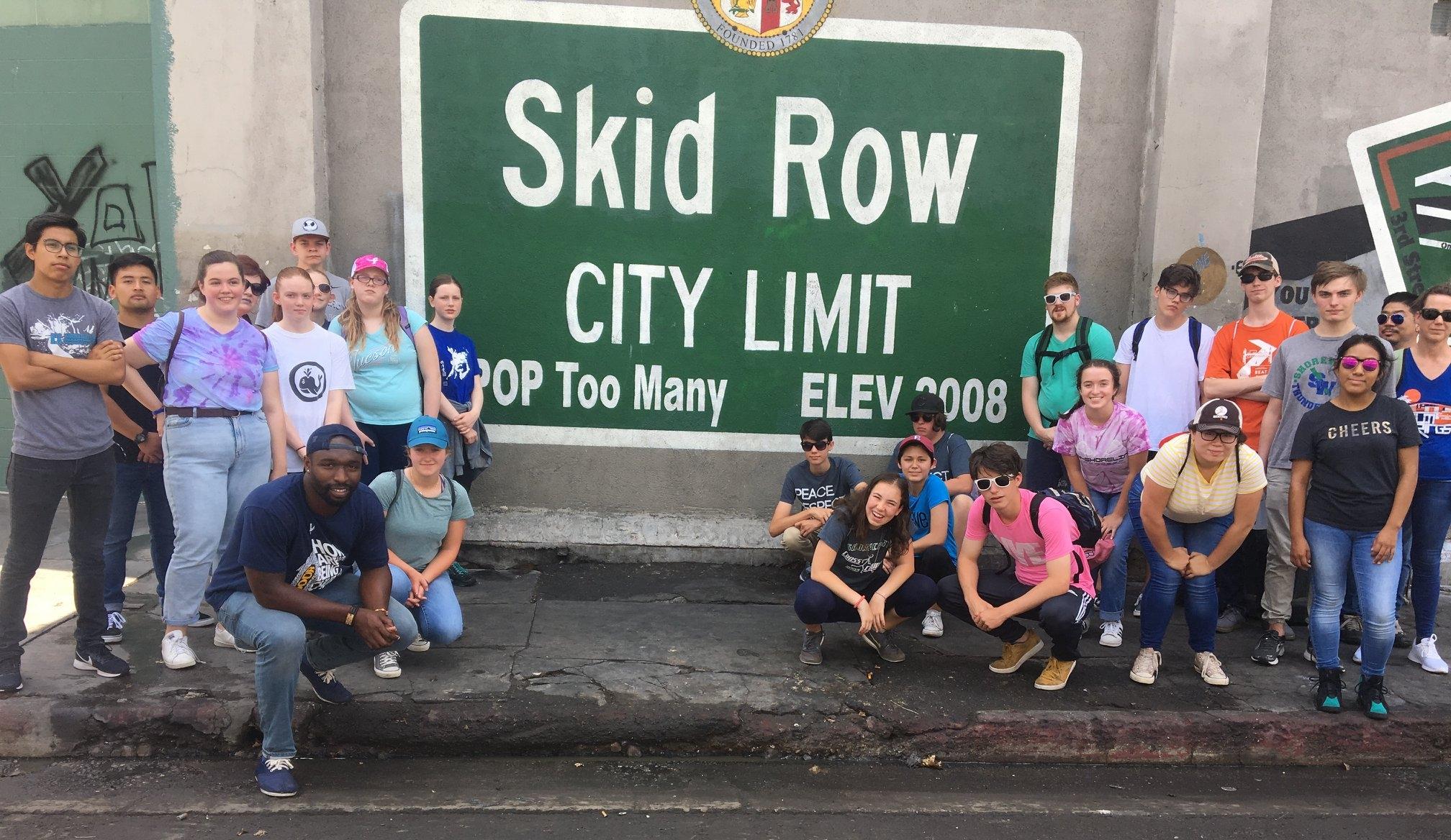 DOOR Network Volunteer Los Angeles LA Skid Row
