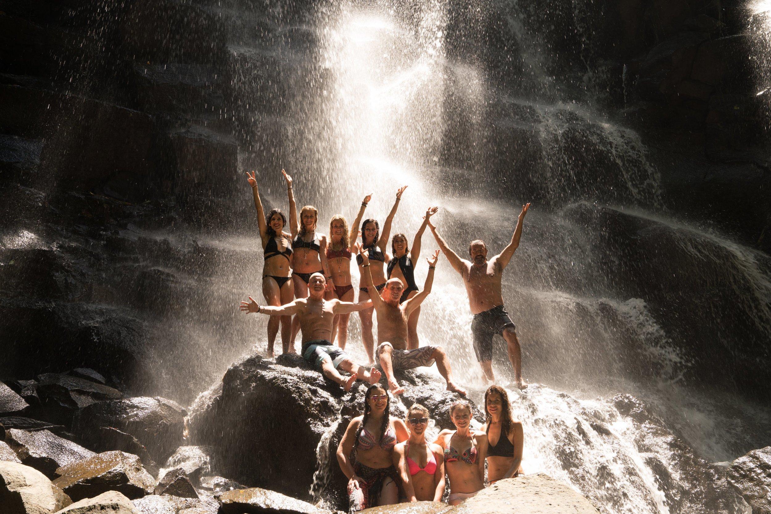 waterfall retreat march 2018